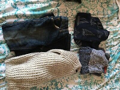 Boys Jeans and Jumper Bundle 5-6 (next, TU, George And Mothercare)