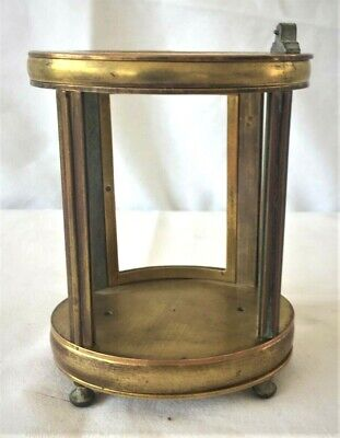Very Nice Brass Oval Carriage Clock Case