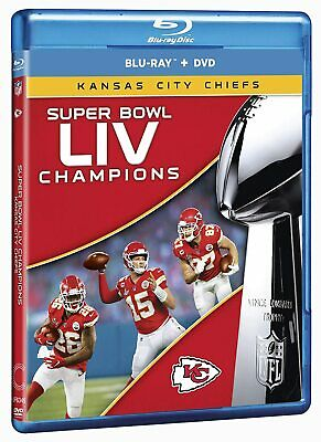 Super Bowl LIV Champions: Kansas City Chiefs [Blu-ray/DVD] BRAND NEW SEALED