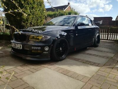 bmw 120d Coupe, modified, track, stance, lowered
