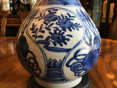 A Rare and Important Chinese Ming Dynasty Wanli Bottle Vase.