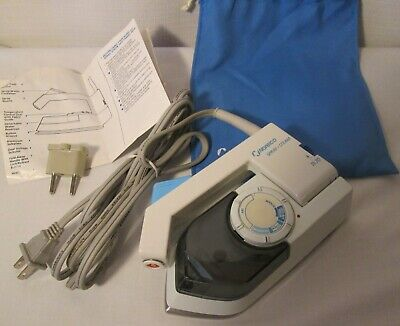 NORELCO Spray-Steam-Dry TRAVEL IRON Kit with Electrical Adapter-UNUSED