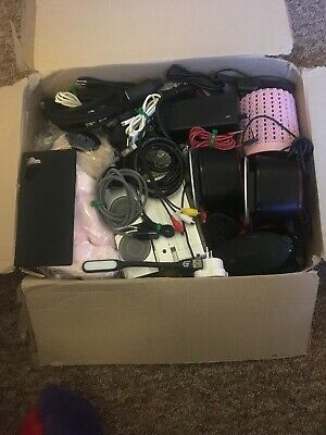 Mixed Box Of Items Perfect For Car Boots  Resale Job Lot All Electrics Tested