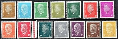 Germany -1926 Portraits - Mint Never Hinged** - Scan + Pic