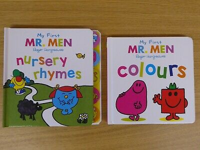 2 My First Mr Men board books for toddlers