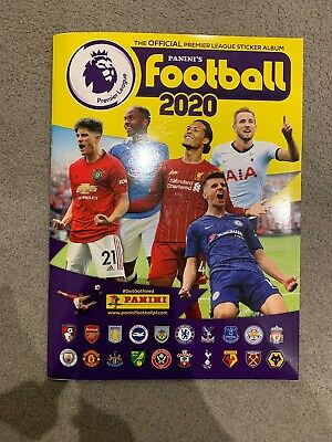 Panini Football 2020 Official Premier League Sticker Album
