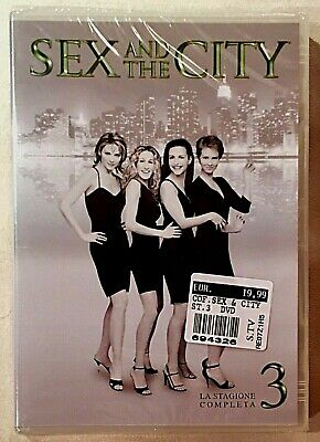SEX AND THE CITY - Terza stagione completa - 3 DVD