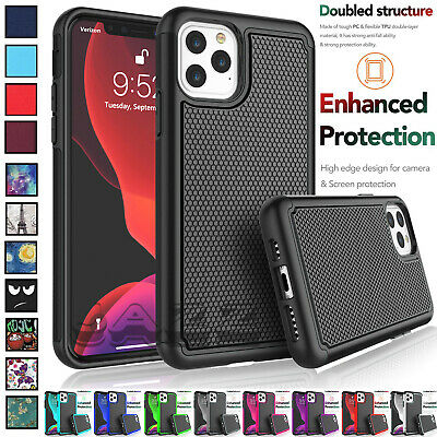 SHOCKPROOF HEAVY DUTY TOUGH ARMOUR CASE COVER FOR Apple iPhone 6 7 8 X XS XR 11