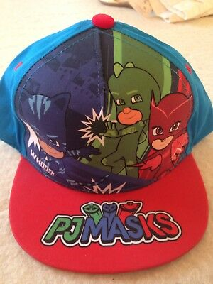 PJMASKS HAT / CAP, Adjustable, One Size. Bnwt