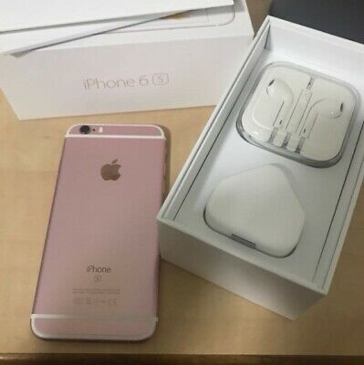 Apple iPhone 6s - 32GB - Rose Gold (Boost Mobile) A1688 (CDMA + GSM)