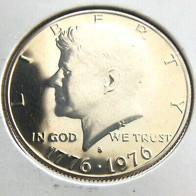 1776-1976 Proof United States America 50 Cent Half Dollar Uncirculated Coin P552