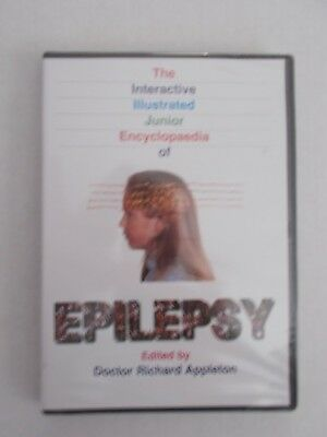 + Epilepsy Interactive Illustrated Junior Encyclopedia (New Sealed) Cd-Rom
