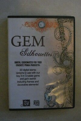- Gem Silhouettes Digital Coordinates For You [Brand New] Aussie Seller