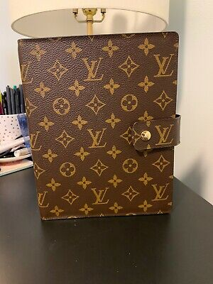 LOUIS VUITTON Monogram Agenda GM, Large Ring Agenda Cover A5