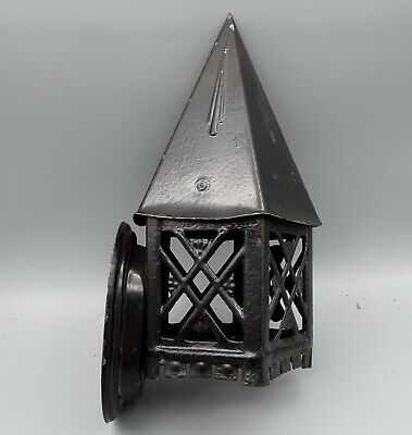 Antique 1920 LINCOLN Tudor Gothic Mission Porch Sconce Light Arts Crafts Vintage