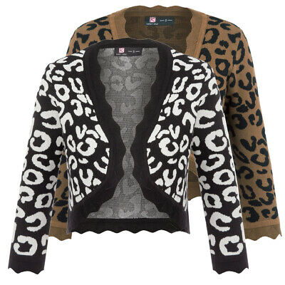 3/4 Sleeve Cardigan Open Front Warm Soft High quality Girls Women's Length