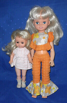Vintage 1970s Blond Dressed English & Italian Dolls