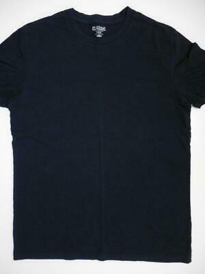 Old Navy Solid Basic Mens Tee T-shirt Cotton Navy Medium Small Classic Fit