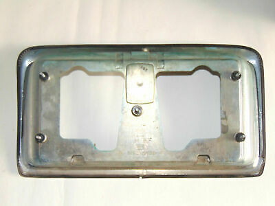 Nissan Cima 1993 Rear Number Plate Surround Chrome