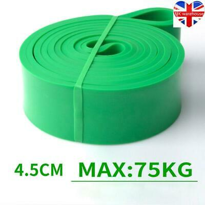 208cm workout Resistance Bands Assisted Pull Up Power latex Stretching belt UK