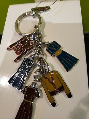 """Esprit"" New W/Tag 5 Charms Key Ring Very Rare"