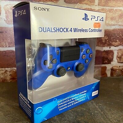 PS4 DualShock 4 Controller Wave Blue  BRAND NEW SEALED OFFICIAL PAL