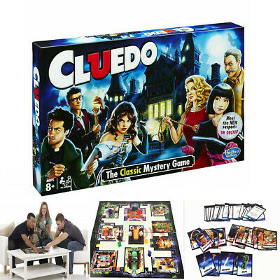 NEW Cluedo The Classic Mystery Board Game UK Family Quality assurance