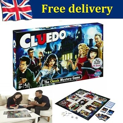 Cluedo The Classic Mystery Board Game Perfect Family Game New Gift Xmas UK