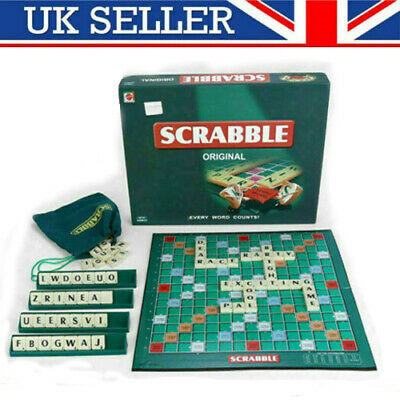 Hot Kids Scrabble Board Game Family Adults Educational Toys Puzzle Game