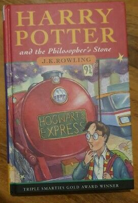 HARRY POTTER & THE PHILOSOPHER'S STONE 1st edition UK HB Hardback 1997 30TH Rare