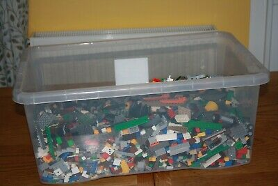 Lego Mixed Brick box large, contains bricks from many different sets 7Kg