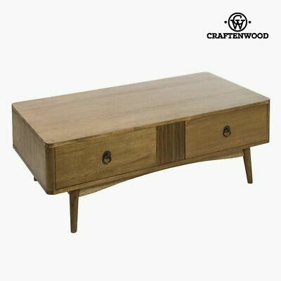 Couchtisch Teakholz Mdf Braun - Be Yourself Kollektion by Craftenwood