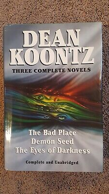the Eyes of Darkness:(1989 HC)  3 Complete Novels by Dean Koontz, Good Cond.
