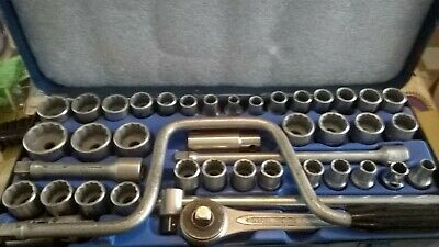 Vintage Heyco AF, Metric & Whitworth Socket Set MADE IN GERMANY