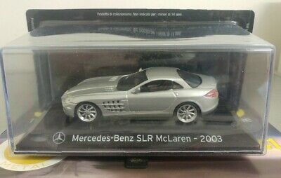 Panini Supercars Collection #41 Mercedes-Benz SLR McLaren 2003 1:43 New Release