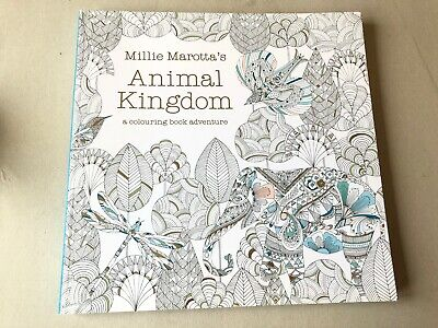 Animal Kingdom by Millie Marotta: Adult colouring book for relaxation
