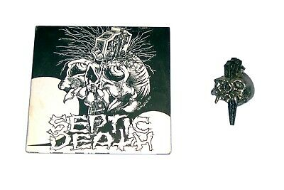 SEPTIC DEATH  Final Performance LF 283 CD  + PIN Pushead Somewhere In Time