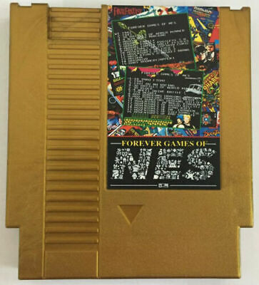 852 in 1 Forever Duo NES Games Nintendo Gold Cartridge Multi Cart