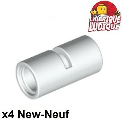 silver Pin Connector 1L NEUF NEW 4 x LEGO Technic 18654 Connecteur Tube