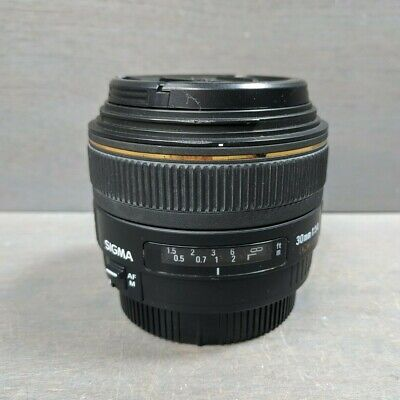 Sigma 30mm f/1.4 EX HSM DC Lens For Canon