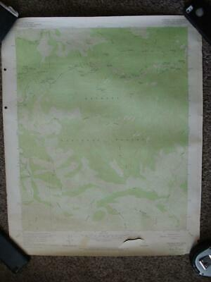 Lot Of 10 Vintage Usgs Topographic Maps California U.s. Geological Survey 1950'S