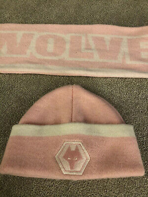 Girls Wolves Hat And Scarf Set
