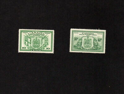 Canada 2 Different Mint Hinged Vf Special Delivery Stamps Scott # E10 & E11