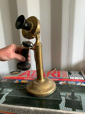 vintage western electric 1911 candlestick dial less phone
