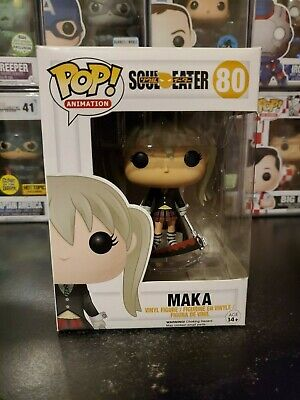 Funko Pop! Soul Eater Maka #80 Vaulted Retired Vinyl Figure WITH PROTECTOR!