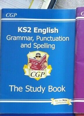CGP Key stage 2 Study book Grammar, Punctuation and Spelling 2016.