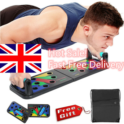 9 in 1 Push-up Board Stand Fitness Workout Gym Chest Muscle Training Exercise Ge