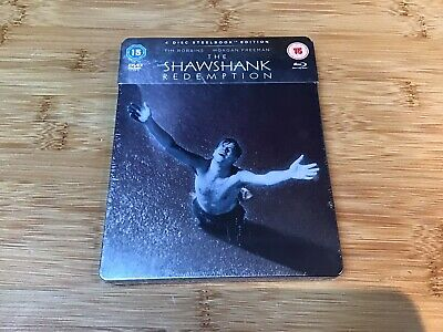 Shawshank Redemption Movie - The Official Steelbook (Blu-ray) 4 Disc SPECIAL