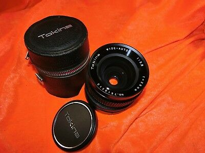 TOKINA WIDE AUTO 1:2.8 F=28mm No.7513213 for CANON FD