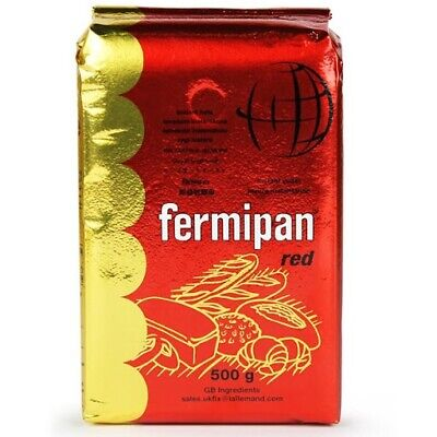 Fermipan 500g Red INSTANT Dried Yeast BREAD Bakery Bakers Yeast VEGAN 🍞FAST 🚛